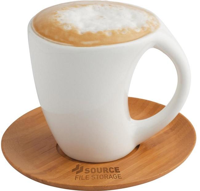 Carmel Mug & Saucer Set