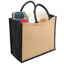 Eco Jute Wide Gusset Tote