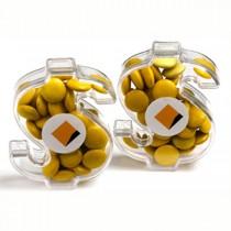 Acrylic Dollar - Choc Beans