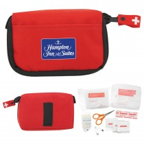 13 Piece First Aid Travel Kit