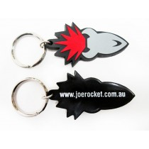 2 Dimensional PVC Keyrings