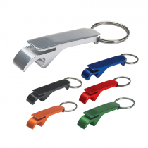Coloured Bottle Opener Keyring