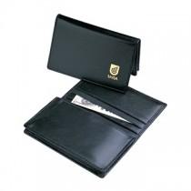 Leather Pocket Business Card Holder