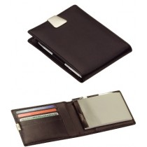 Leather Wallet & Jotter