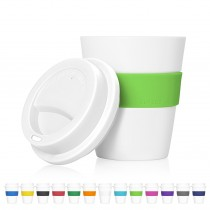 Cup 2 Go White Eco Coffee Cup