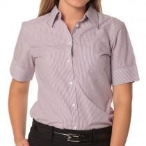 Violet / White Short Sleeve