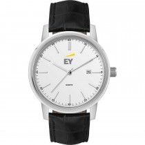 Mens Leather Dress Watch