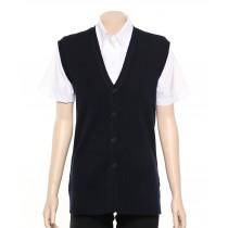 LSJ Long Line Knit Vest - Ladies