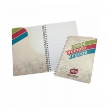 Custom Wire Bound Notebooks